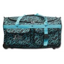 Limited Edition Dream Duffel® - Teal Hearts - Large