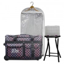 Limited Edition - Medium - Pink/Purple Mermaid - Complete Package