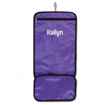 Hanging Accessory Roll - Purple with Personalization