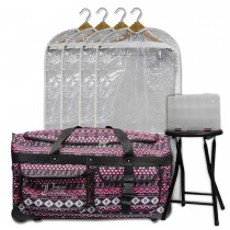 Limited Edition - Large - Pink Southwestern - Deluxe Package