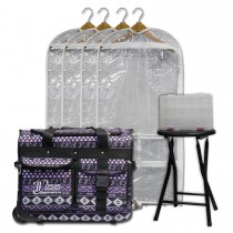 Limited Edition - Small - Purple Southwestern - Deluxe Package