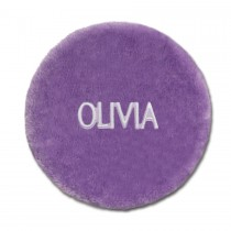 Folding Stool Cover - Purple with Personalization