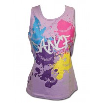 Tank Top - Lilac Splatter