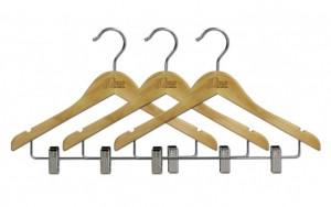 "15"" Wooden Hanger - 3-Pack"