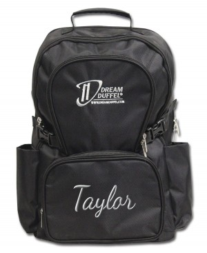 Backpack - Classic Black with Personalization