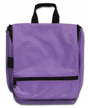 Hanging Cosmetic Case - Purple