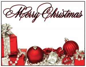 Personalized Greeting Card - Merry Christmas 2