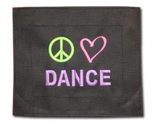 Patch-Peace Love Dance