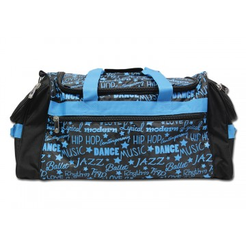 Gym Bag-Graffiti-Blue