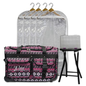 Limited Edition - Medium - Pink Southwestern - Deluxe Package