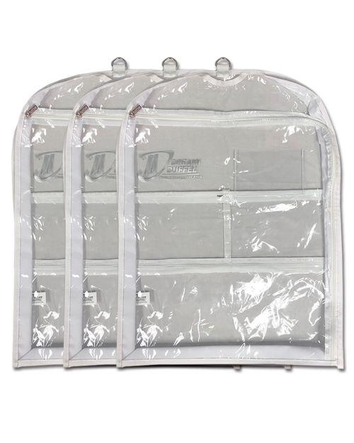 Short Gusseted Garment Bag Side Zip