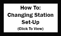 How To: Changing Station Set-Up