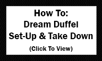How To: Dream Duffel Set-Up & Take Down