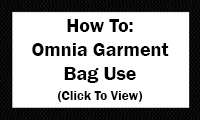How To: Omnia Garment Bag Use