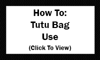 How To: Tutu Bag Use