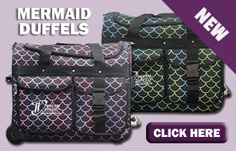 NEW-Mermaid Dream Duffel