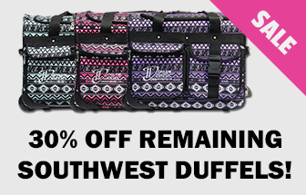 305 Off Remaining Southwest Duffels!